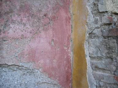 Färgen på Pompejis murar
